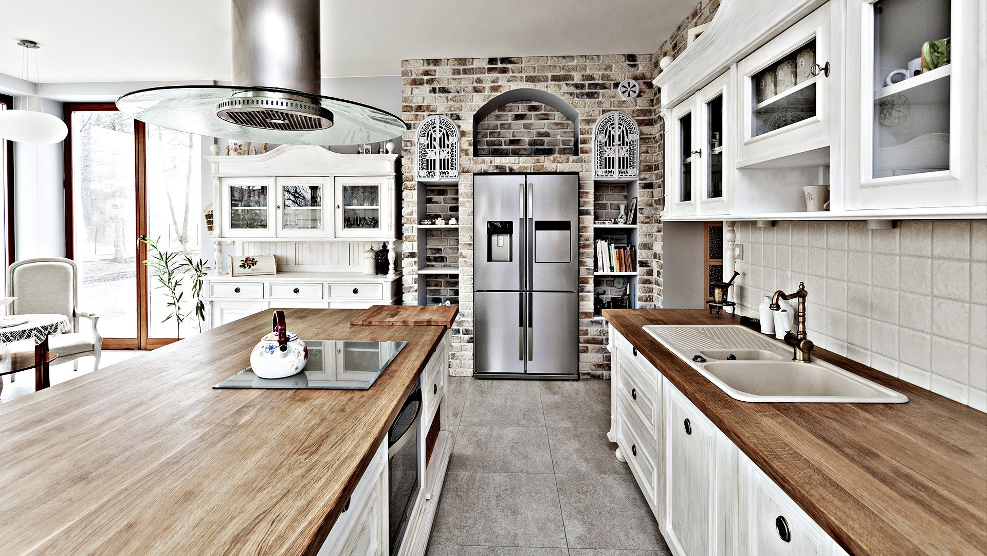 Home Run Remodelers Inc. Remodeled Kitchen 1